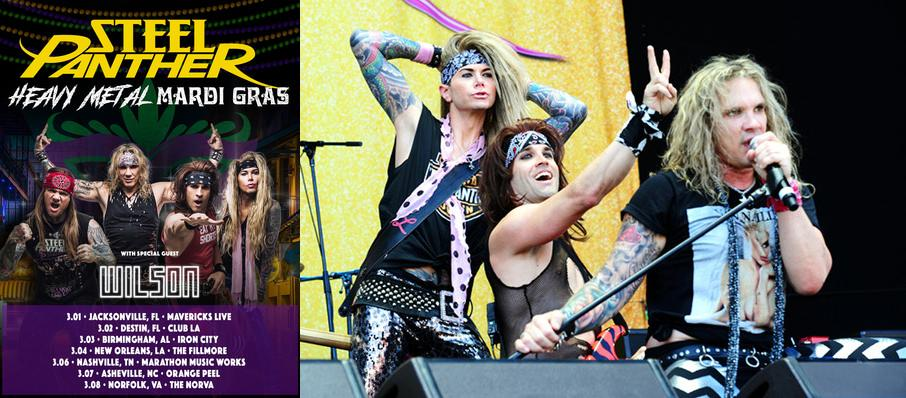 Steel Panther at Gramercy Theatre