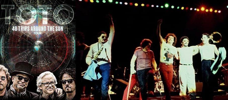 Toto at Hackensack Meridian Health Theatre
