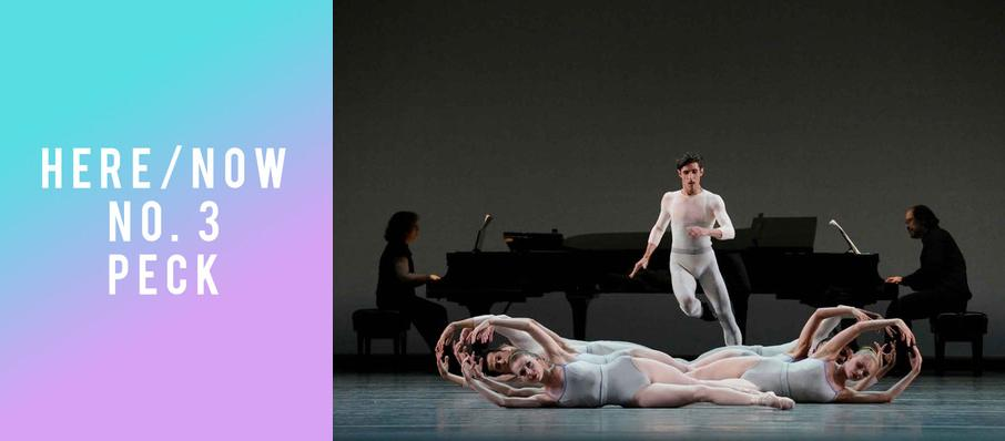 New York City Ballet: Here and Now No. 3 - Peck at David H Koch Theater