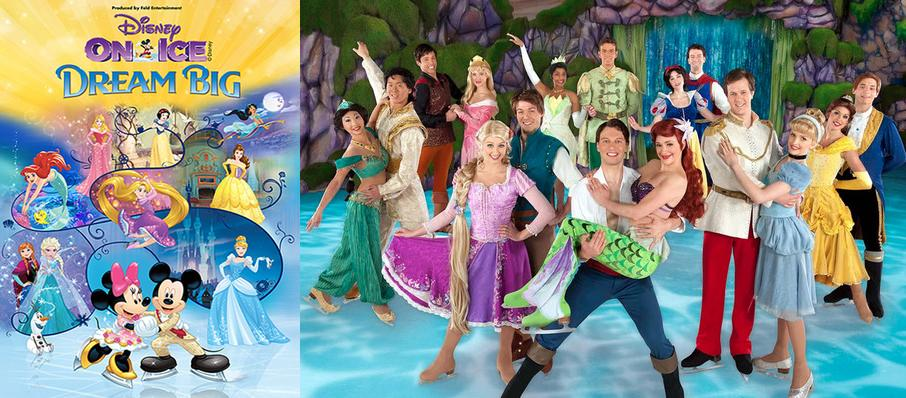 Disney On Ice: Dream Big at Nassau Coliseum