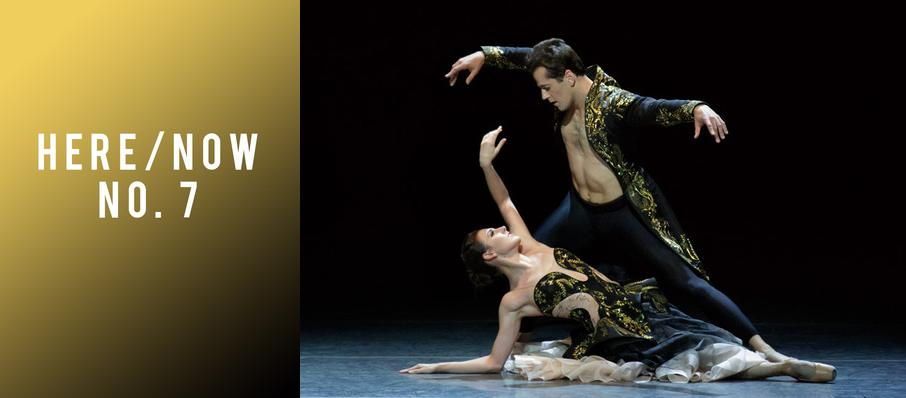 New York City Ballet: Here and Now No. 7 at David H Koch Theater
