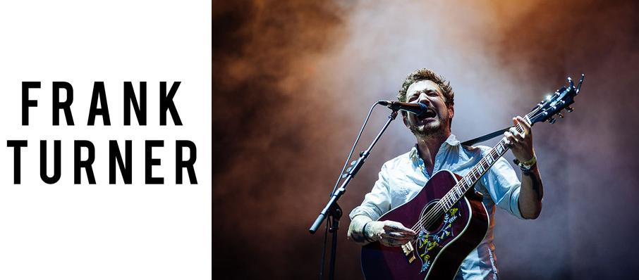 Frank Turner at Town Hall Theater