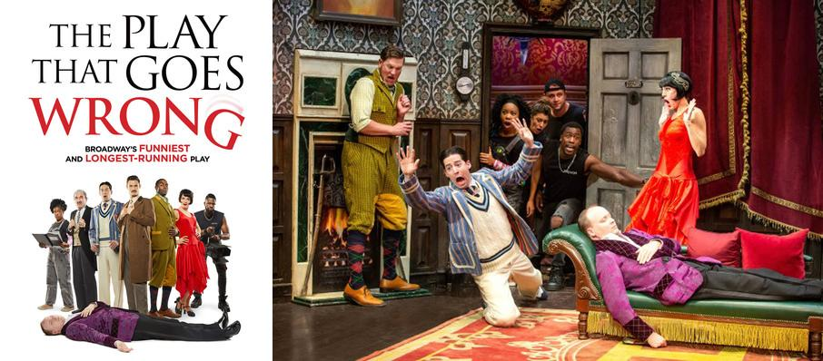 The Play That Goes Wrong at Lyceum Theater