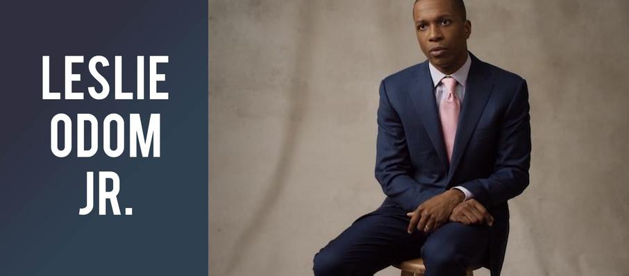 Leslie Odom Jr. at Appel Room