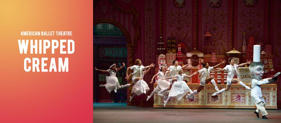 American Ballet Theatre - Whipped Cream at Metropolitan Opera House