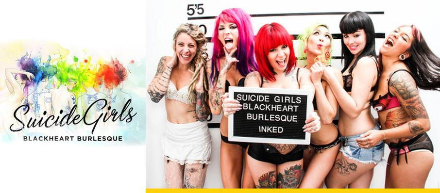 The Suicide Girls - Blackheart Burlesque at Highline Ballroom