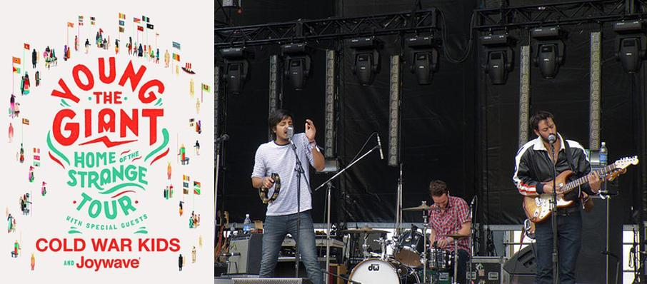 Young the Giant with Cold War Kids at Rumsey Playfield SummerStage Central Park
