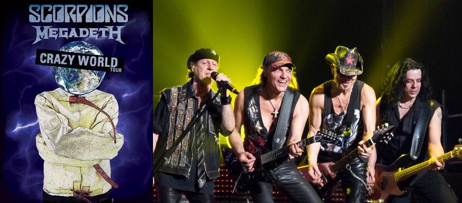 Scorpions and Megadeth at Madison Square Garden