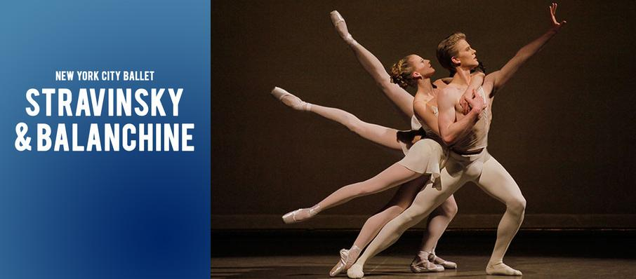 New York City Ballet - Stravinsky & Balanchine at David H Koch Theater