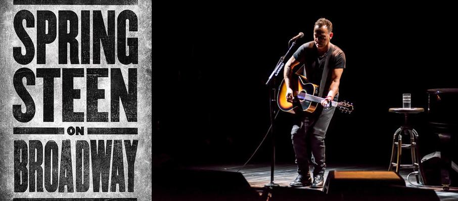 Springsteen on Broadway at Walter Kerr Theater