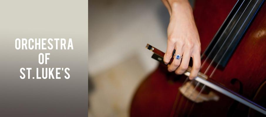 Orchestra of St. Luke's at Isaac Stern Auditorium