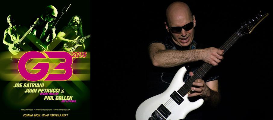 G3 - Joe Satriani, John Petrucci and Phil Collen at Beacon Theater