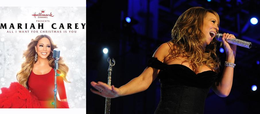 Mariah Carey at Madison Square Garden