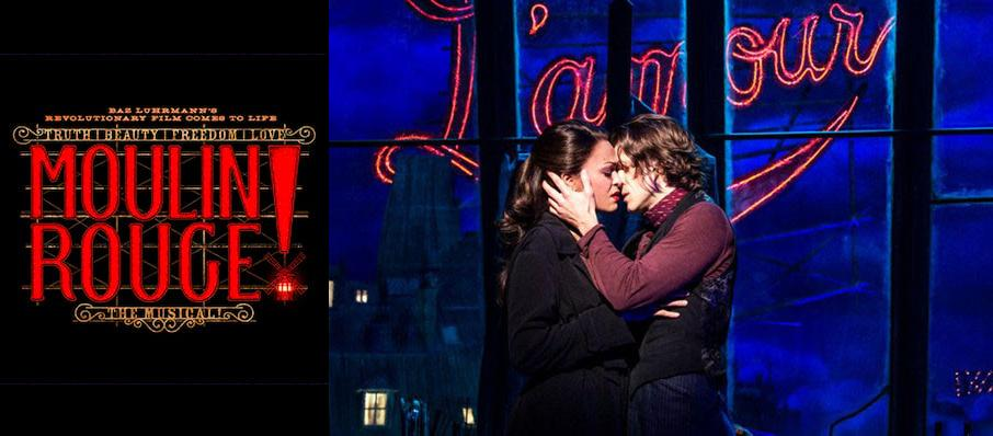 Moulin Rouge! The Musical at Al Hirschfeld Theater