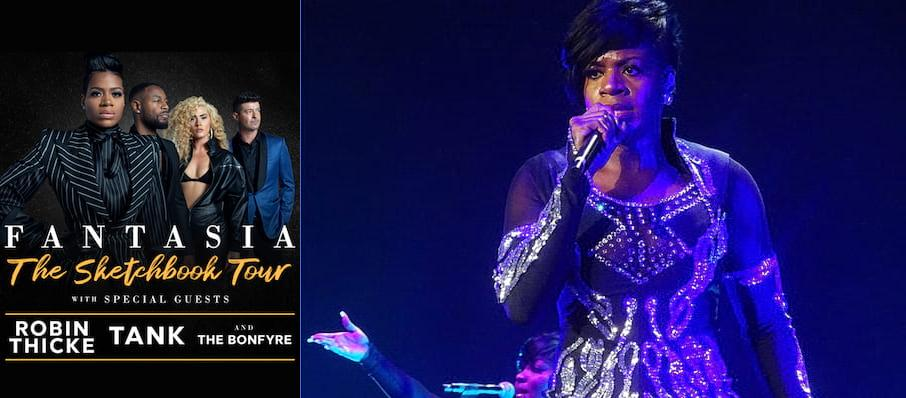 Fantasia Barrino at Theater at Madison Square Garden