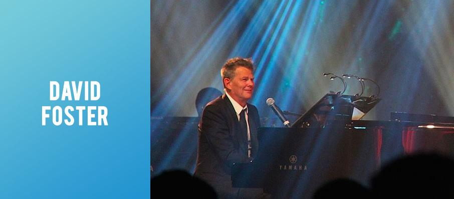 David Foster at Hackensack Meridian Health Theatre