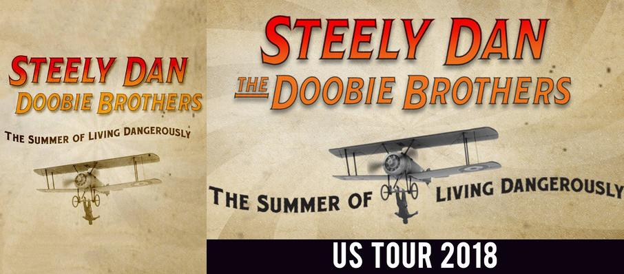 Steely Dan and The Doobie Brothers at Bethel Woods Center For The Arts