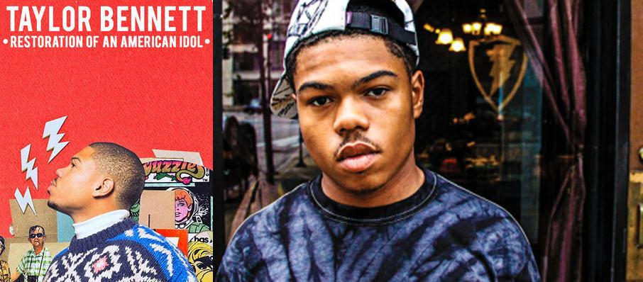 Taylor Bennett at Gramercy Theatre