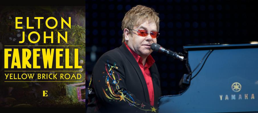 Elton John at Prudential Center
