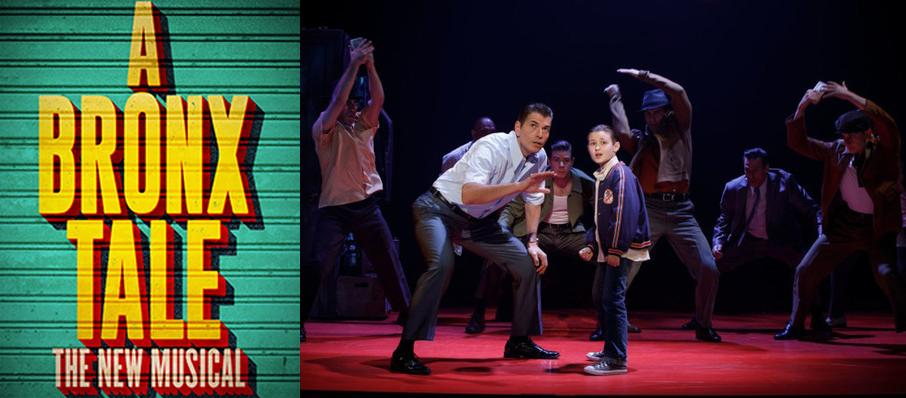 A Bronx Tale at Hackensack Meridian Health Theatre