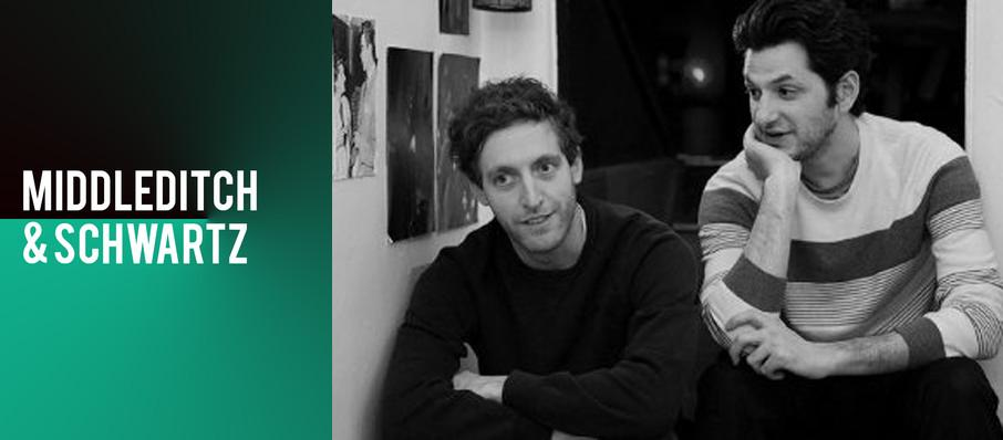 Middleditch and Schwartz at Skirball Center for the Performing Arts