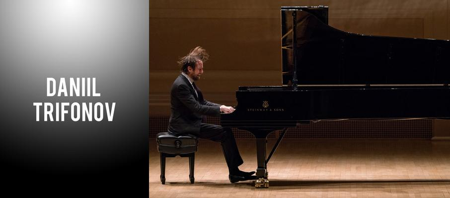 Daniil Trifonov at Isaac Stern Auditorium