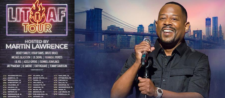 Lit AF Tour hosted by Martin Lawrence at Barclays Center
