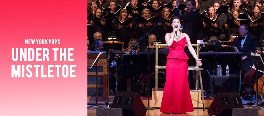 New York Pops - Under The Mistletoe at Isaac Stern Auditorium