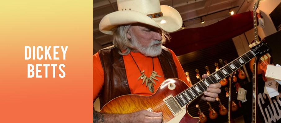 Dickey Betts with Marshall Tucker Band and Devon Allman at Beacon Theater