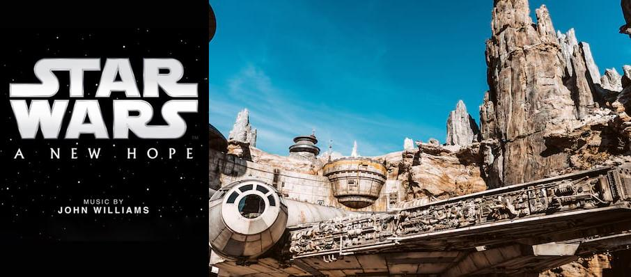 Star Wars: A New Hope In Concert at Count Basie Theatre