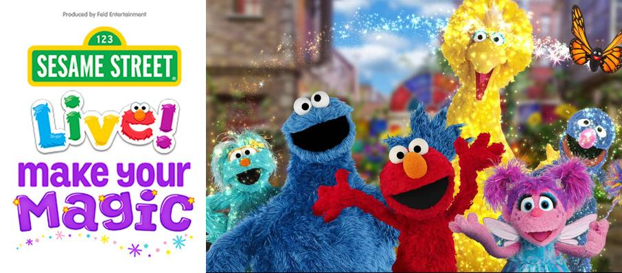 Sesame Street Live - Make Your Magic at Nassau Coliseum
