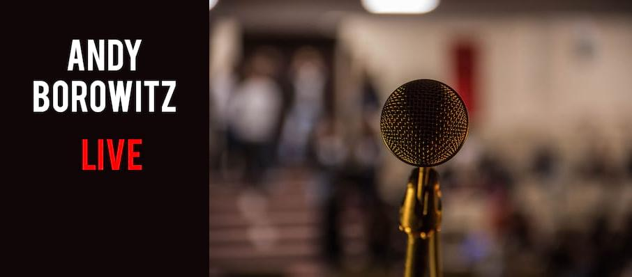 Andy Borowitz at Mccarter Theatre Center