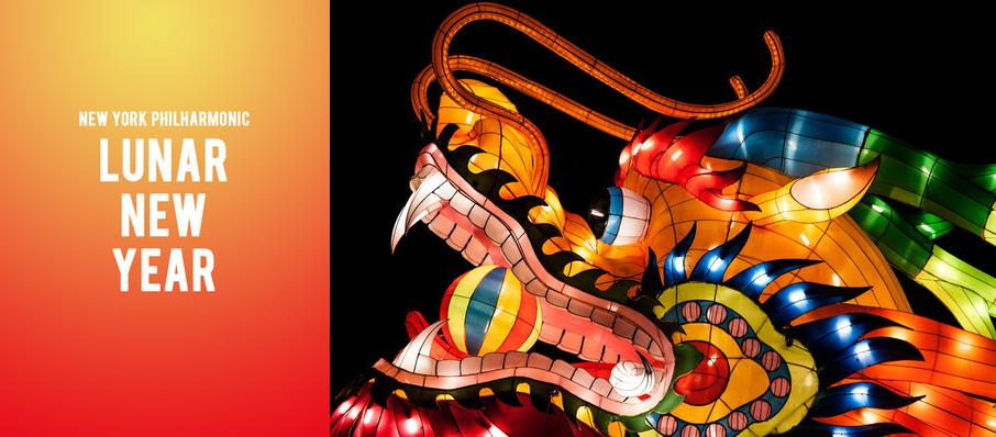 New York Philharmonic - Lunar New Year at David Geffen Hall at Lincoln Center