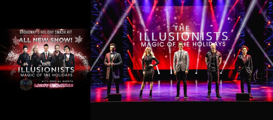 The Illusionists - Magic of the Holidays at Marquis Theater