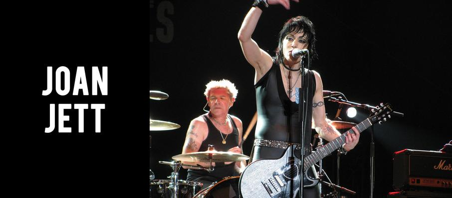 Joan Jett at Bergen Performing Arts Center