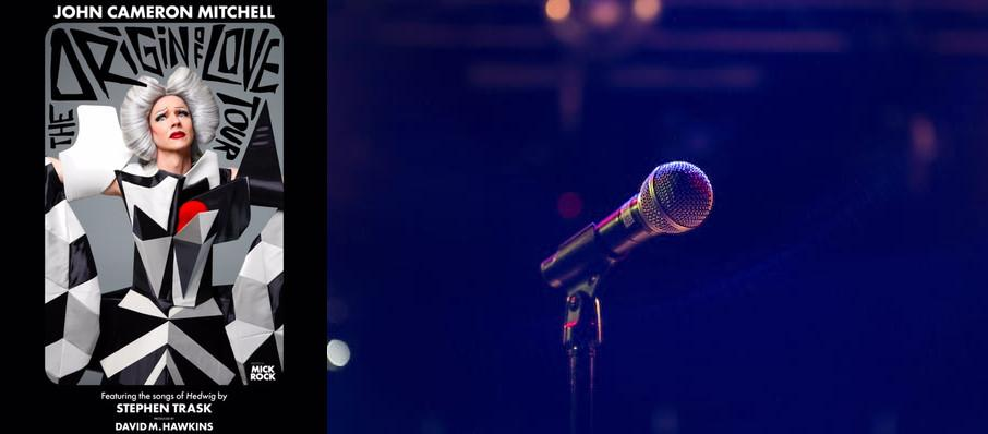 John Cameron Mitchell - The Origin of Love at Town Hall Theater