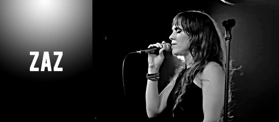 Zaz at Town Hall Theater