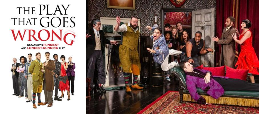 The Play That Goes Wrong at Stage 4 New World Stages