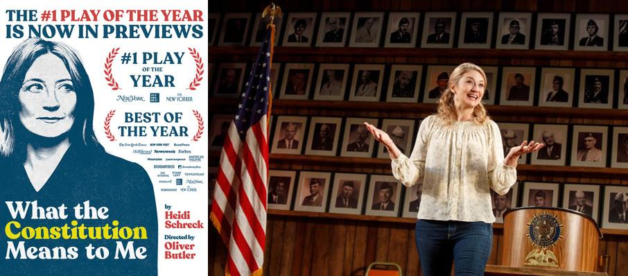 What the Constitution Means to Me at Helen Hayes Theater
