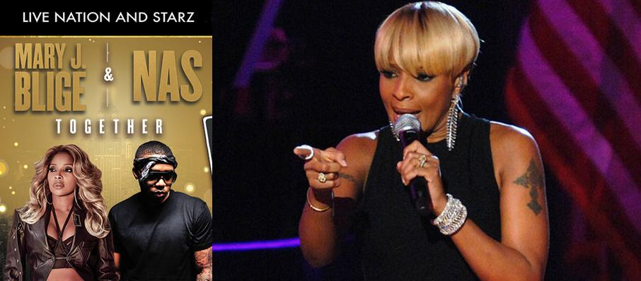 Mary J Blige and Nas at Barclays Center