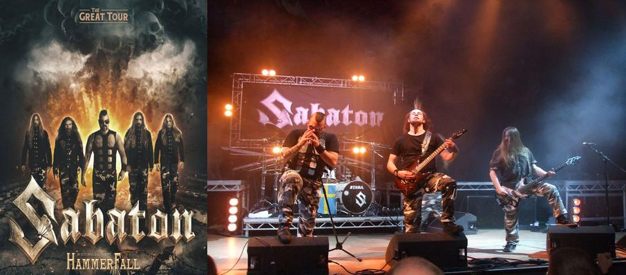 Sabaton at Playstation Theater