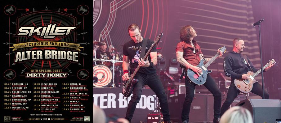 Alter Bridge and Skillet at Terminal 5