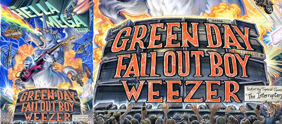 Green Day with Fall Out Boy and Weezer at Citi Field