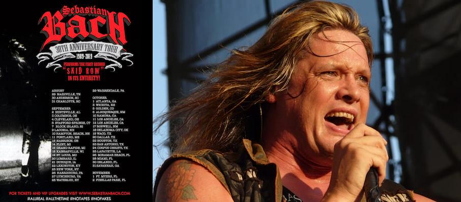 Sebastian Bach at The Space at Westbury