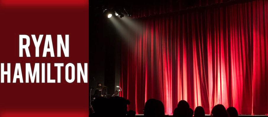 Ryan Hamilton at Bergen Performing Arts Center