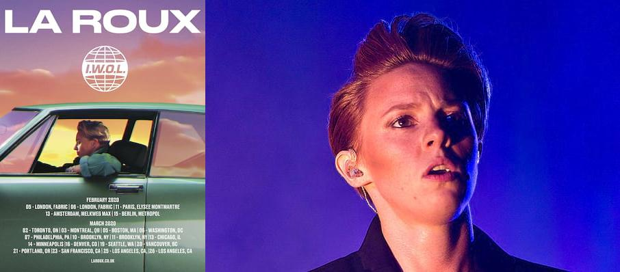 La Roux at Webster Hall