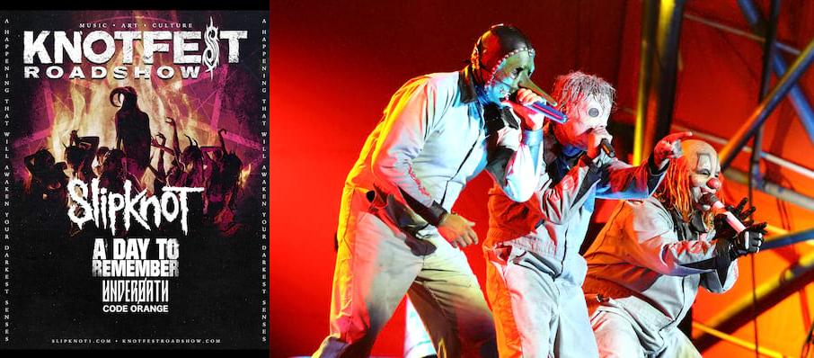 Knotfest - Slipknot, A Day To Remember, Underoath, Code Orange at Madison Square Garden