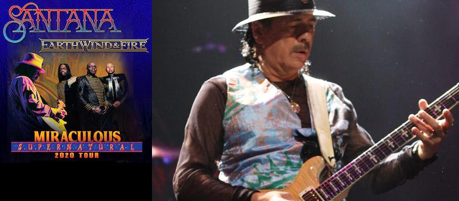 Santana with Earth Wind and Fire at Bethel Woods Center For The Arts