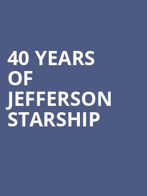 40 Years Of Jefferson Starship at Concert Hall At Suny Purchase