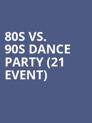 80s vs. 90s Dance Party (21+ Event) at The Cutting Room